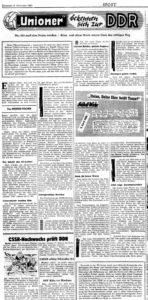 Unioner bekennen sich zur DDR, 6.12.1961